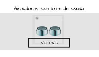 aireadores con limite de caudal