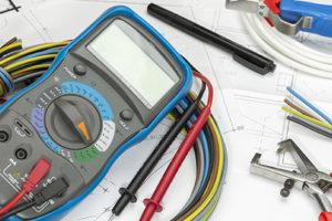 Herramientas para tareas de electricidad