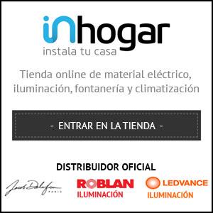 Inhogar Tienda Online de material eléctrico, iluminación, fontanería y climatización