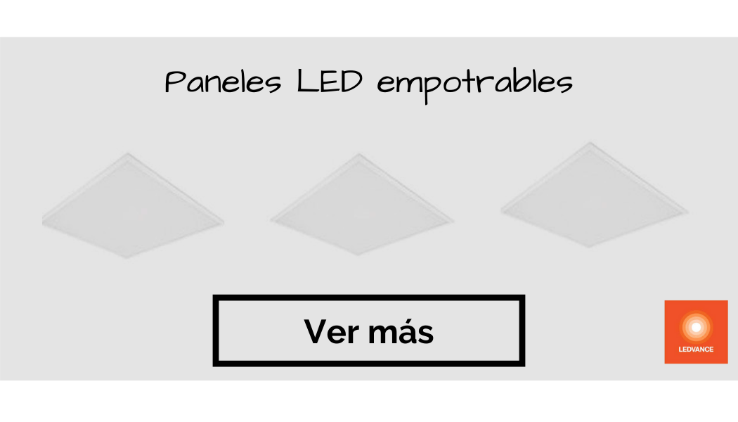paneles led empotrables